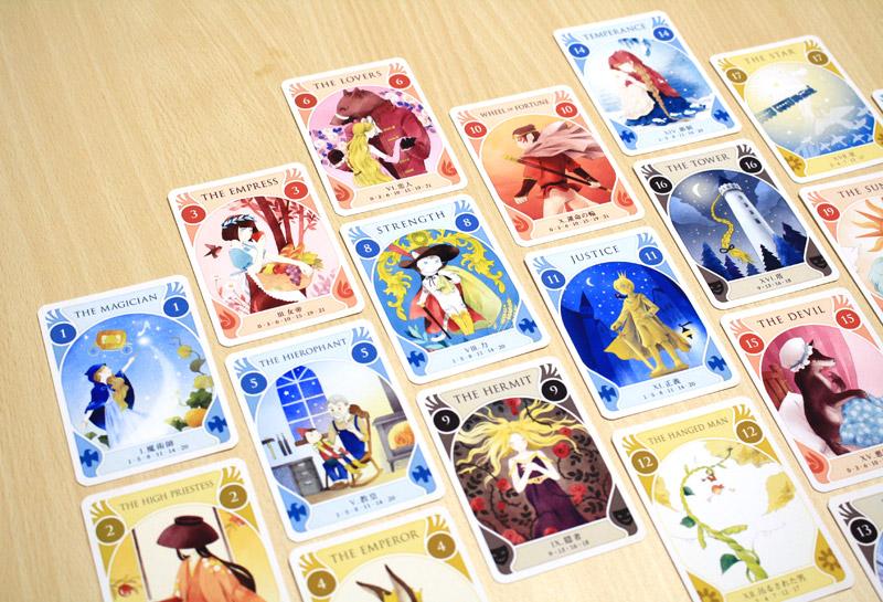 タロットストーリア カードの並べ方